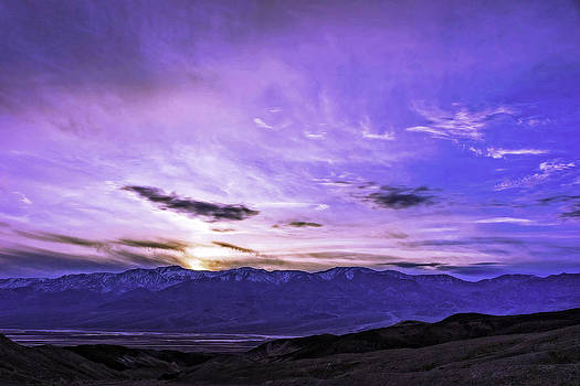Death Valley Sunset by Bill Boehm
