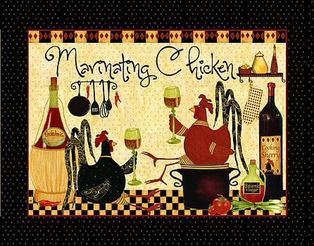 Marinating Chicken by Debi Hubbs
