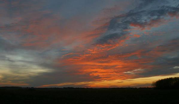 December Sunset 1 by Dan McCafferty