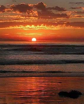 December Sunset by Jennifer Lawrence