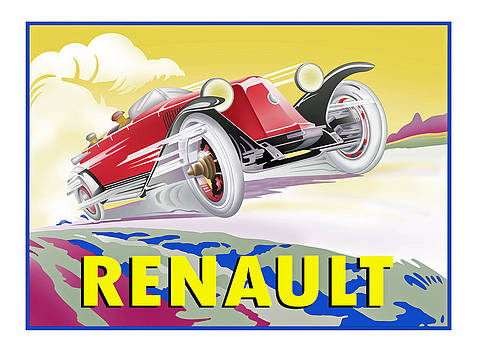 Deco Renault by Lyle Brown