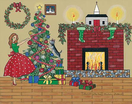 Decorating Our Tree by Medana Gabbard