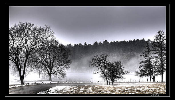 Deep Fog over Marmo   Framed by Ed Cilley