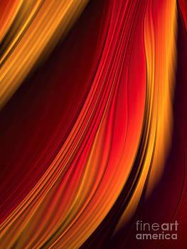Deep In Orange by Barbara Milton