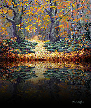 Frank Wilson - Deep Pond Reflections