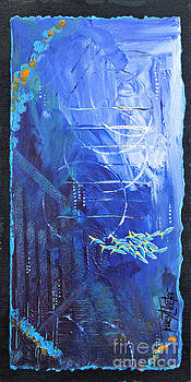 Deep Sea Abstract by Tracy L Teeter