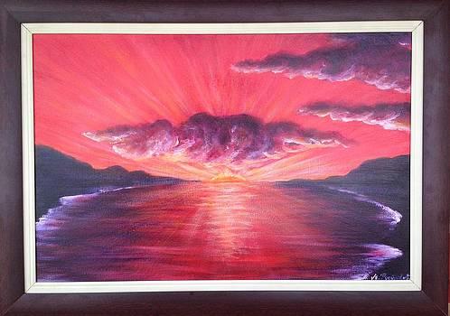 Deep sunny red by Marija Ristovic
