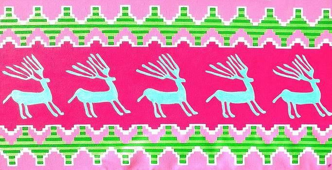 Deer Petroglyph by Paul Ferrara