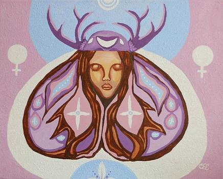 Deer Woman by Carolyn Cable
