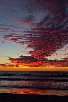 Del Mar Sunset 16 by Randy Bayne