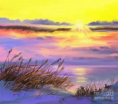 Delaware Sunrise by Linda Minkowski