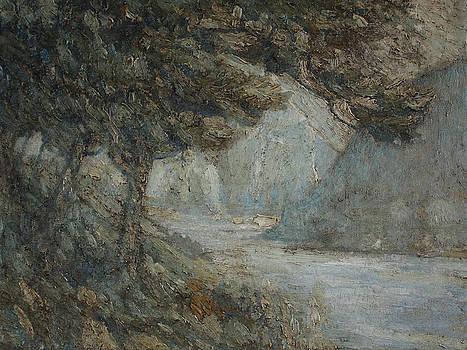 Delaware Water Gap from Kittatinny Point IV by Stephen Washington