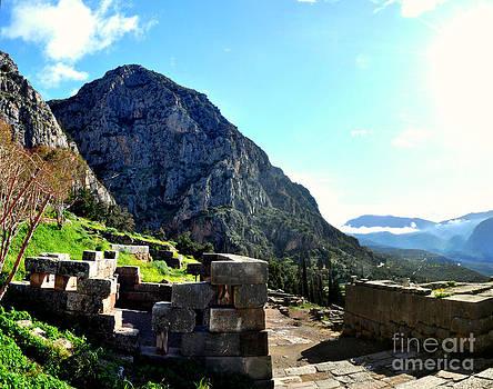 Delphi Morning by Eric Liller