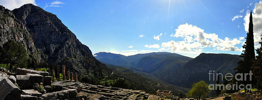 Delphi Valley Morning by Eric Liller