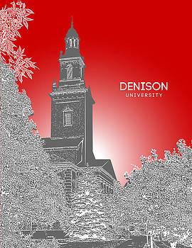 Denison University Swasey Hall by Myke Huynh