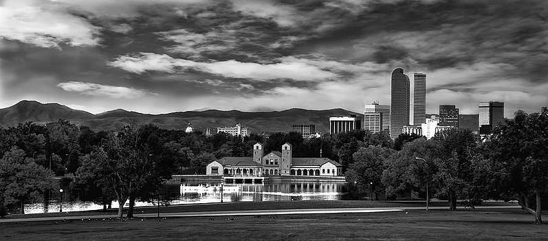 Denver City Park Skyline by Kristal Kraft