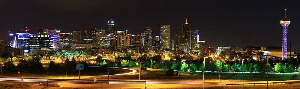 Denver Skyline II by Mike Kim