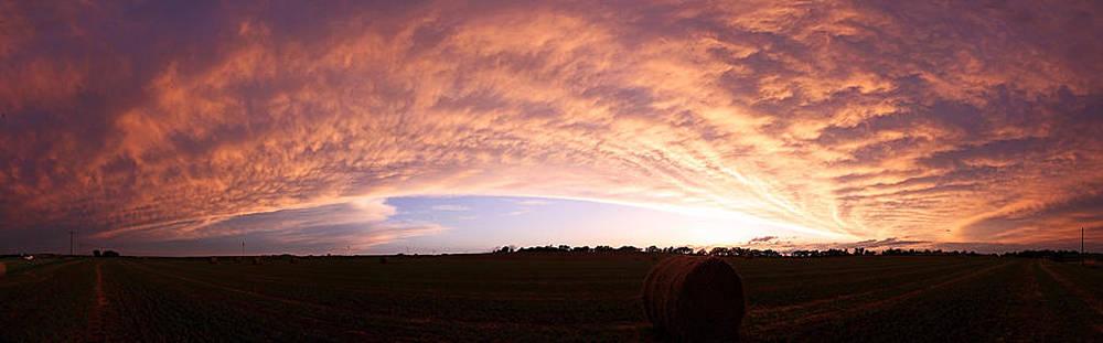 Departing Storm by Chris  Allington