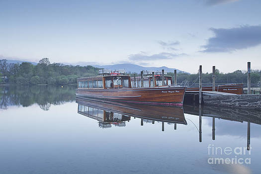 Derwent Water boats by Julian Elliott