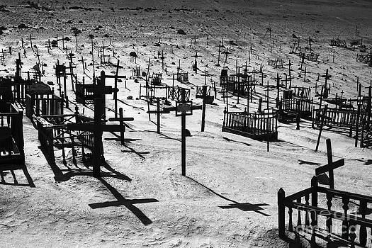 James Brunker - Desert Cemetery Shadows