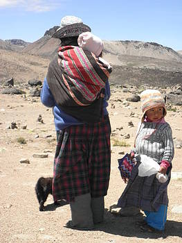 Desert family by Isabella Rocha