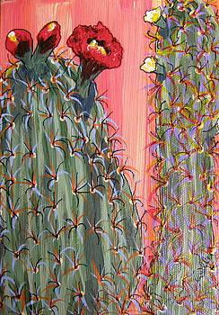Marcia Weller-Wenbert - Desert Orange Cactus 1