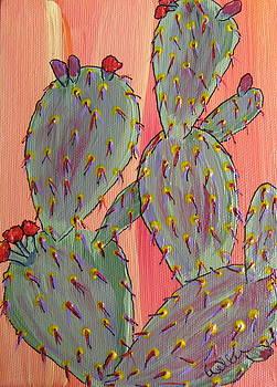 Marcia Weller-Wenbert - Desert Orange Cactus 2
