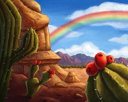 Desert Rainbow by Michael Trujillo