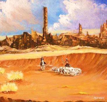 Desert Sheppards by Al Brown