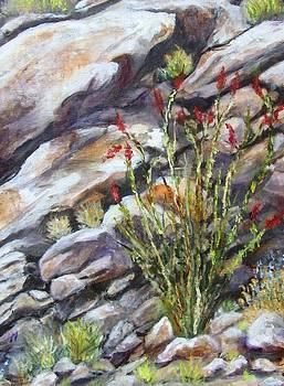 Desert Stillness by Caroline Owen-Doar