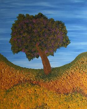Desert Tree Day by Jilly Curtis