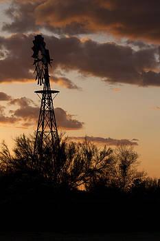 Desert Windmill by Gregory Johnson