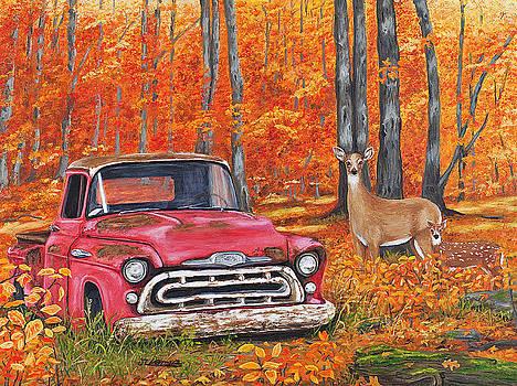 Deserted - '57 Chevy Pickup by Jim Ziemer