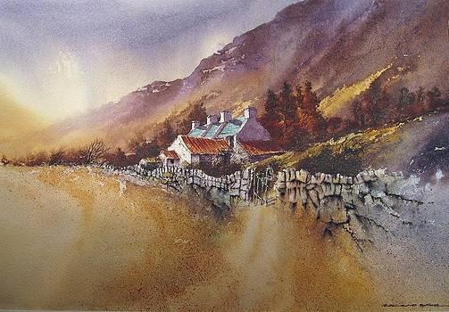 Deserted Farm by Roland Byrne