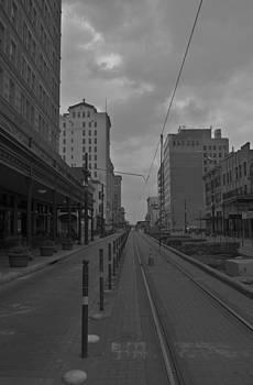 City-Houston Deserted  by Matthew Miller