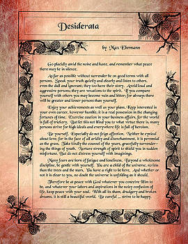 Desiderata 1 by Mike Flynn