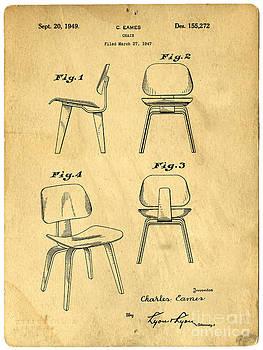 Edward Fielding - Designs for a Eames chair