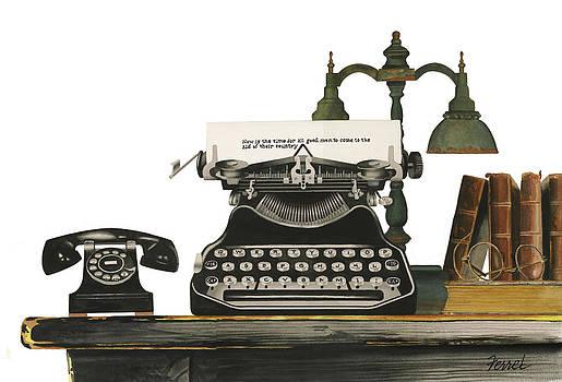 Desk Jockey by Ferrel Cordle