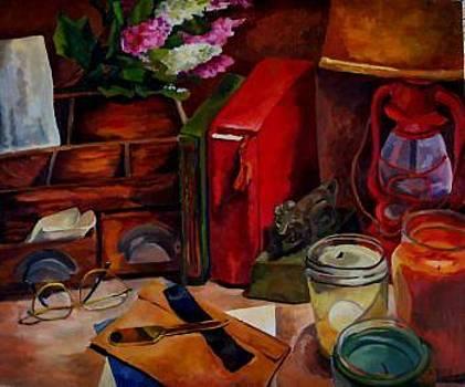 Desk Top by Donna Teleis