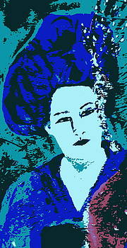 Detail in Blue by Beth Sebring