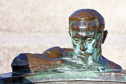 Detail of sculpture by Borislav Marinic