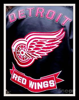 Gail Matthews - Detroit Red Wings on Leather