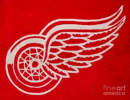 Gail Matthews - Detroit Red Wings Plush