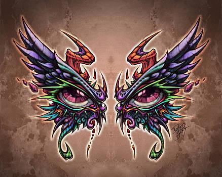 Devil Angel Eyes by David Bollt
