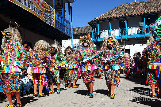James Brunker - Devil Dancers at Paucartambo Peru