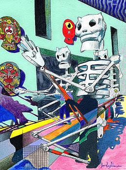 Dia De Muertos by Daniel Levy policar