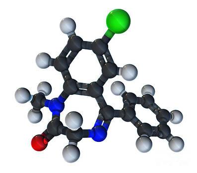 Evan Oto - Diazepam Molecular Model