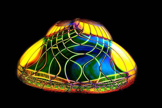 Digital Lamp Shade by Gunter Nezhoda