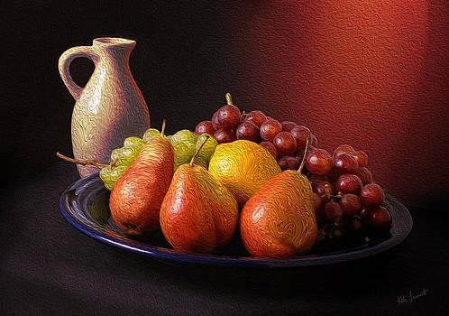 Kate Farrant - Digital Oil Still Life Painting