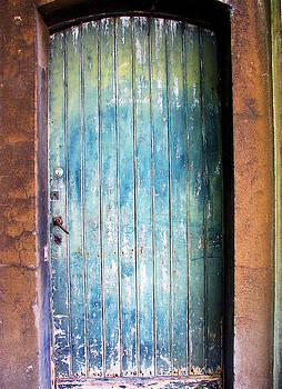 Dilapidated Door by Gerry Bates